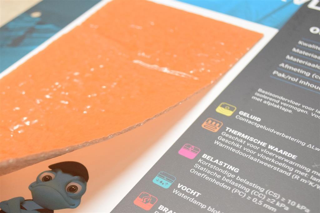 Ondervloer laminaat vloerverwarming koop het online lionshome