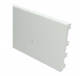 Sfeerplint Modern Flexibel  120/90/70x15 wit