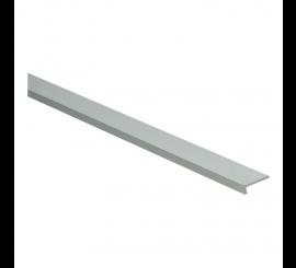 Hoeklijnprofiel zelfklevend 4 mm tbv PVC klik zilver