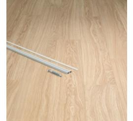 Quick Step Incizo profiel metaal zilver 270 cm.