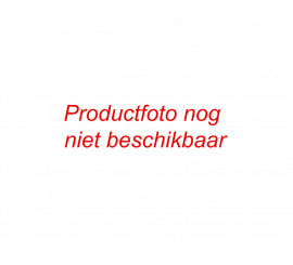 Stijlplint Amsterdam ZWART folie 7 cm.