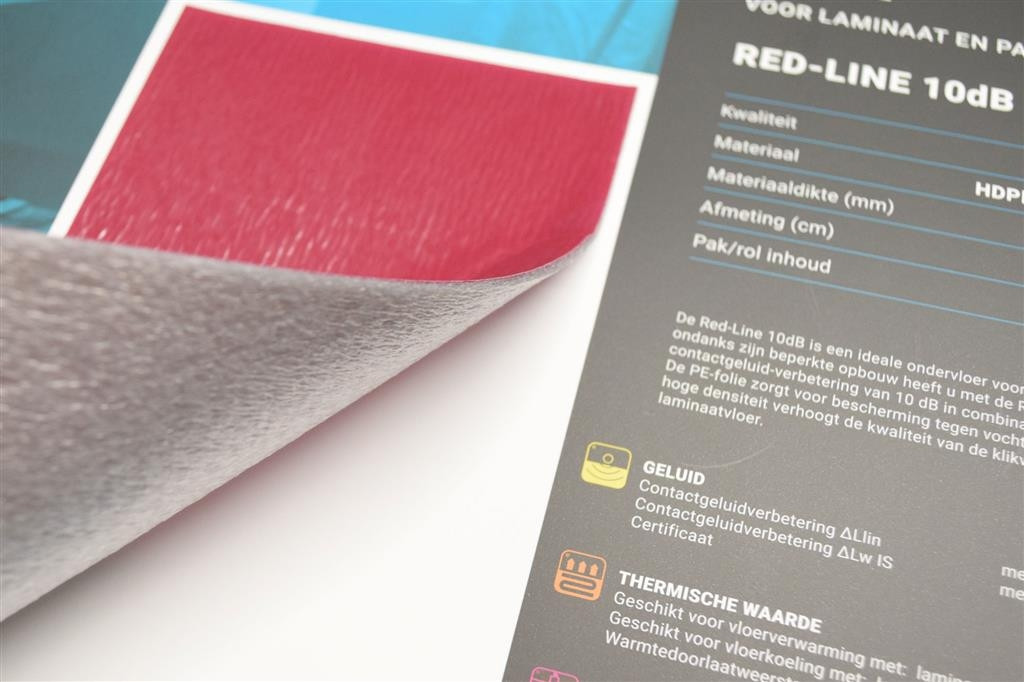 Co pro red line db tuv ondervloeren rijnmond laminaat